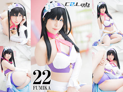 JAV Cosplay Fumika Sagisawa (鷺沢文香) - The Idolamaster Cinderella Girls