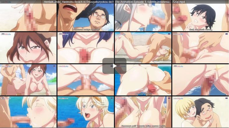 Yarimoku Beach ni Shuugakuryokou de!! The Animation Episode 1 Subtitle Indonesia
